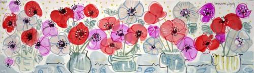 Anemones still life.