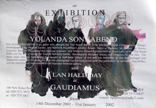 Exhibition poster London 2002