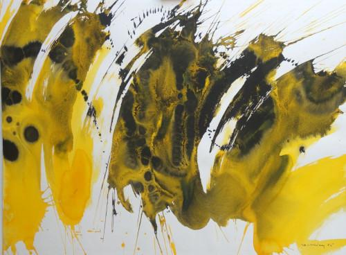 Yellow Abstract III