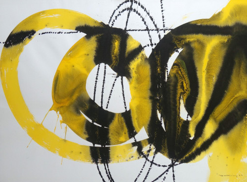 Yellow Abstract I