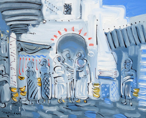 The Souk Entrance at Tangier
