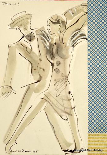 From the ballet Yemaya by Tharp