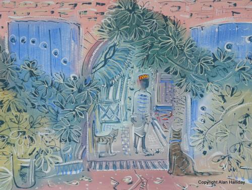 Jardin Majorelle, The Tea Room