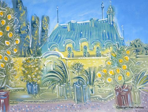 Lemons and Planters at St. Loup