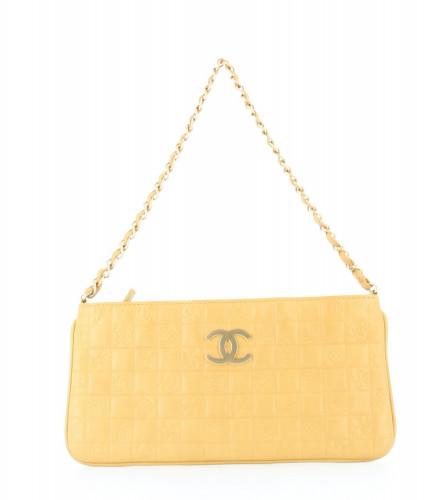 Chanel 2003-04 Golden Pouch Bag