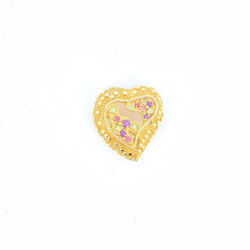 Christian LaCroix 2000's Heart Brooch/Pendant