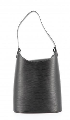 Louis Vuitton Noctambule Black Leather Bag