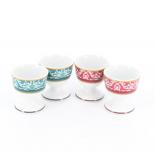 Hermès 1990's Egg Cups (coquetiers) Set of 4