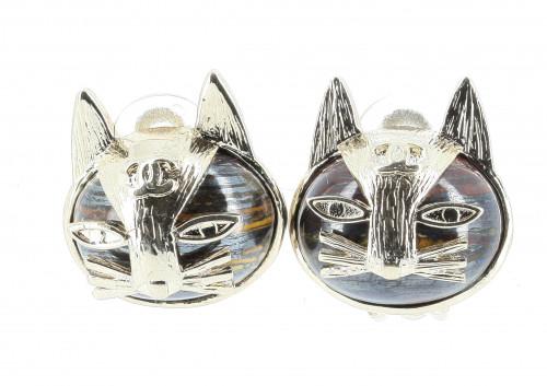 Chanel 2019 Cat  Earrings