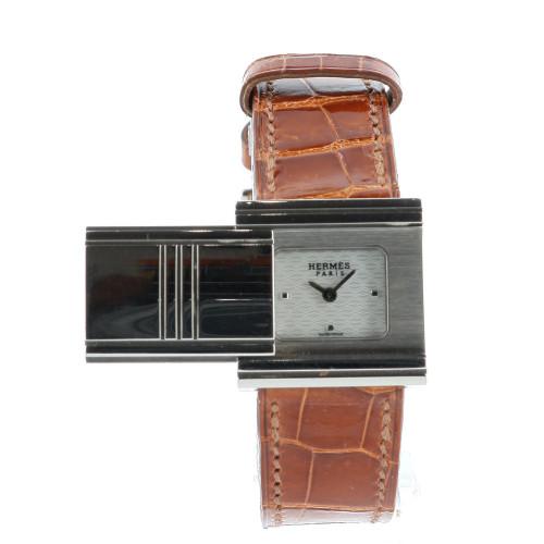Hermès Glissade 18k White Gold Watch