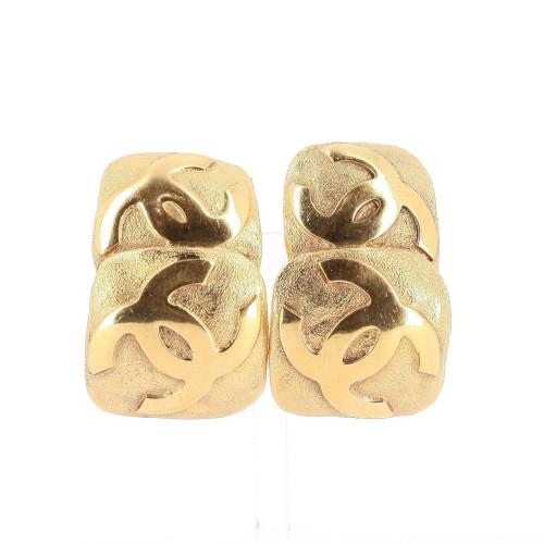 Chanel 1990's Maxi Earrings