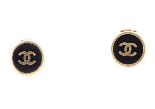 Chanel 2000 Logo Earrings
