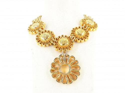 Christian Lacroix XXL Golden Necklace