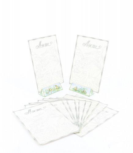 Hermès 2000's Art de table Menu Holders