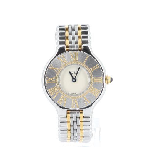 Cartier Must 21 dial watch