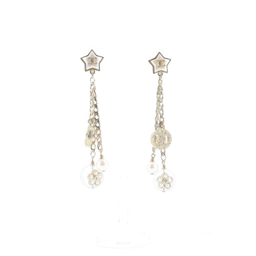 Chanel 2019 Star and Sphere Earrings