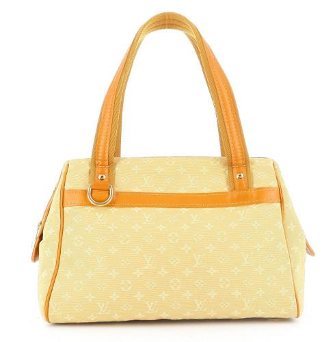 Louis Vuitton Yellow Canvas Handbag