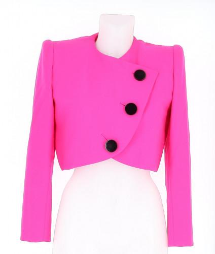 Givenchy Pink Boléro Jacket Size 38