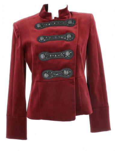 Balmain Red Velvet Jacket