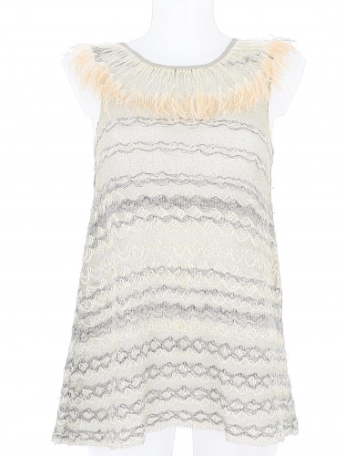 Chanel Hollow Out Top
