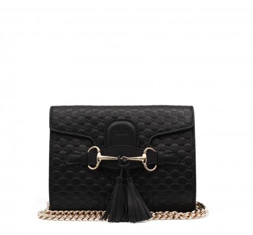 Gucci black guccisima bag Margaux bag