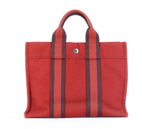 Hermes Red Toto Bag