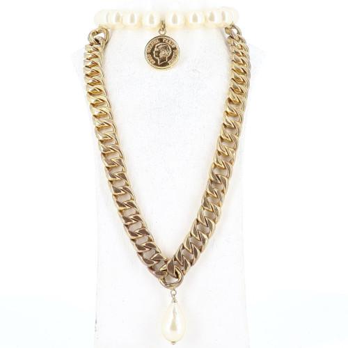 Chanel Big Golden Necklace