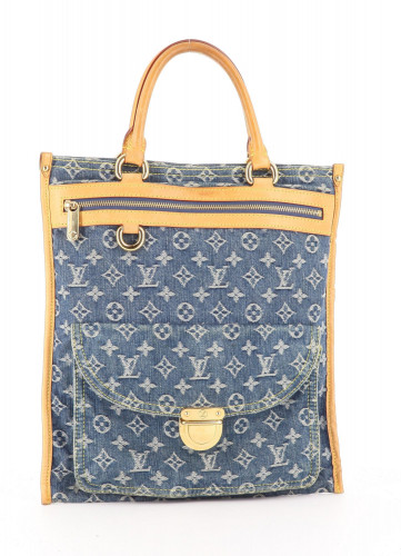 Louis Vuitton Denim Buggy Bag
