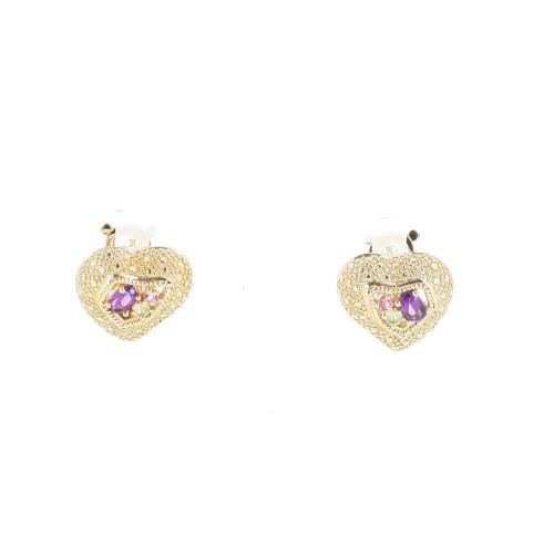Christian LaCroix 2000's Hearts Earrings
