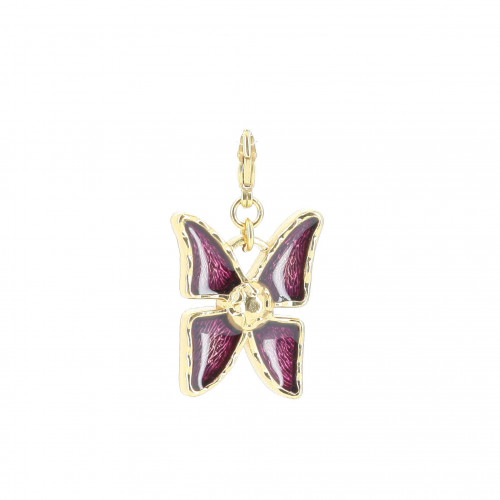 Yves Saint Laurent Purple Butterfly Pendent