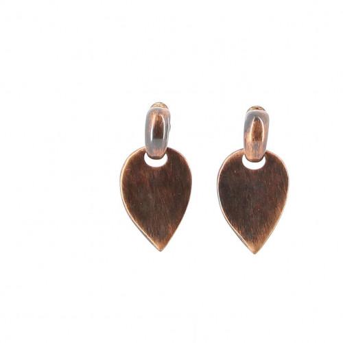 Yves Saint Laurent Red Palms Earrings