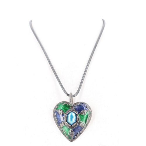 Yves Saint Laurent Heart Necklace
