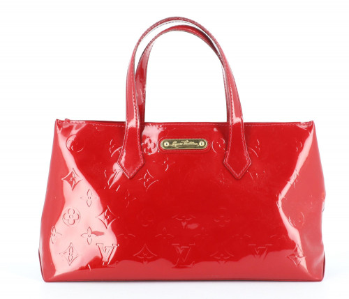 Louis Vuitton WilShire patent leather monogram