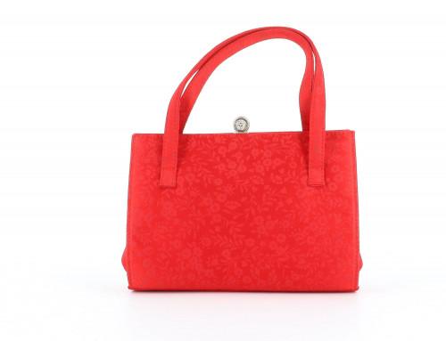 Versace nano red bag