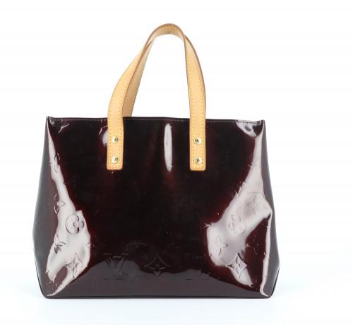Louis Vuitton Patent Leather Amarant Bag