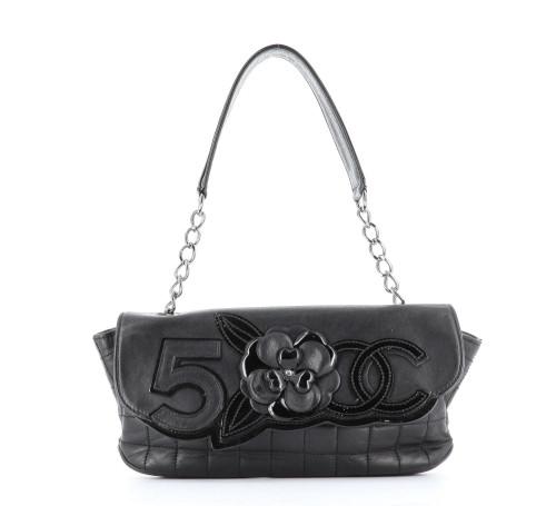 Chanel Camelia Baguette Bag
