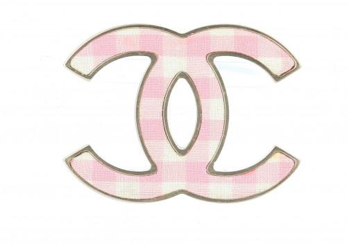Chanel 1911 Pink Brooch