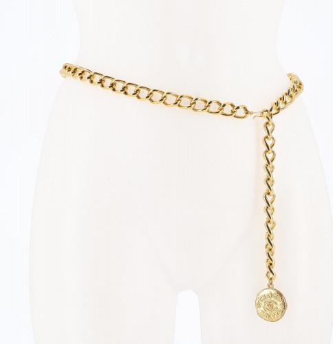Chanel 1998 Medaillon Chain Belt