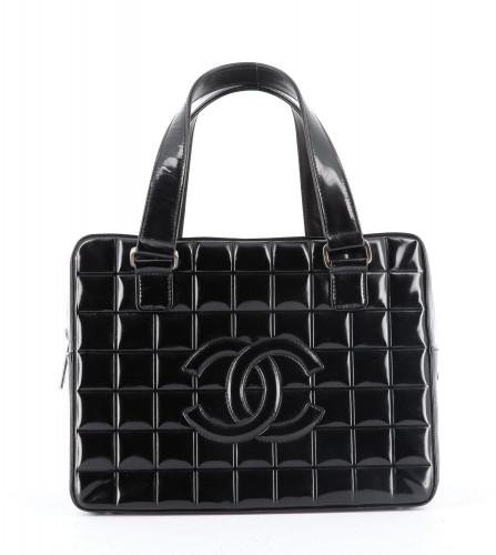 Chanel Black Square Quitled Handbag