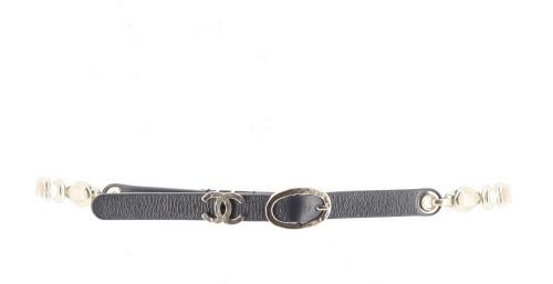 Chanel White Gem Belt