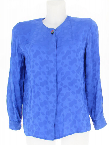 Louis Féraud Blue Star Shirt