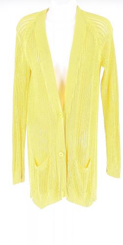 Hermes Knit Yellow Coat