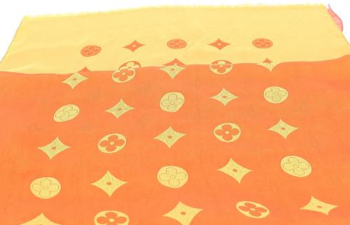 Louis Vuitton Flower Monogram Scarf