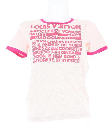 Louis Vuitton T-shirt print
