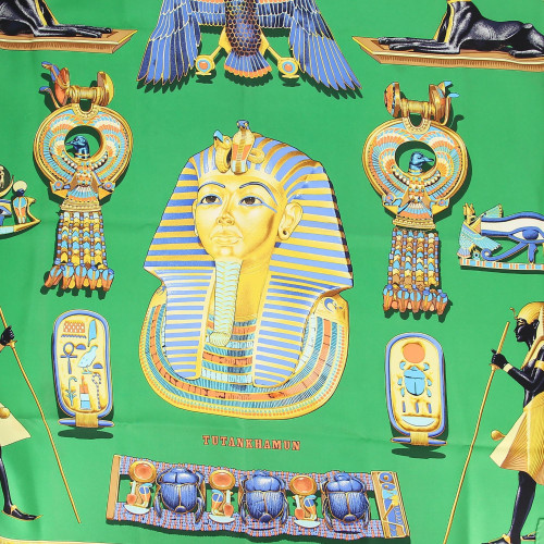 Hermes Tutankhamun By Vladimir Rybaltchenko Scarf