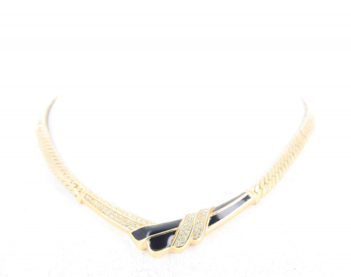 Dior Gold Necklace