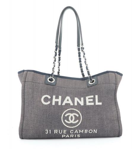 Chanel Deauville Blue Bag