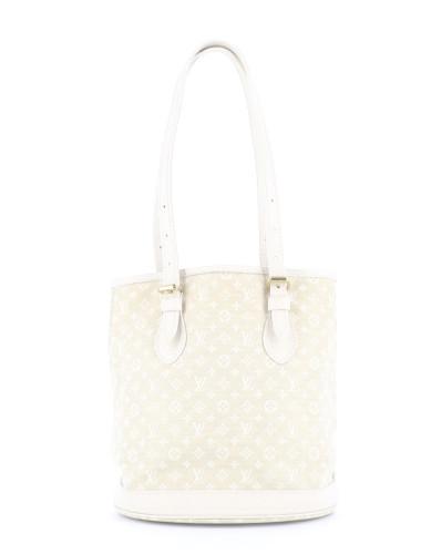 Louis Vuitton White Bucket