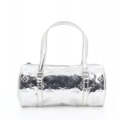 Louis Vuitton Papillon Silver Bag