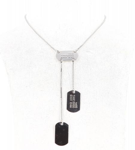 Dior Silver Necklace